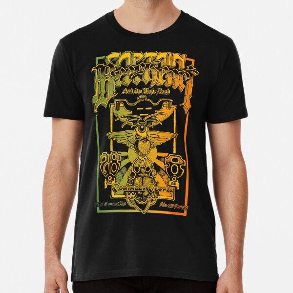 Jimi HENDRIX Live In New York 1969 ROCK N ROLL hommes men T-Shirt Noir Black