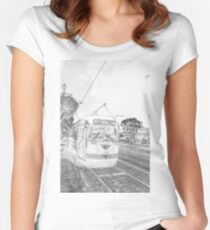 F-Line Women's Fitted Scoop T-Shirt