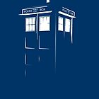 Tardis Outline by chazy73