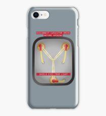 1 Point 21 Gigawatts iPhone Case/Skin
