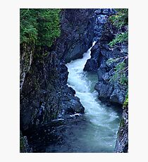 Sooke River Gorge Photographic Print