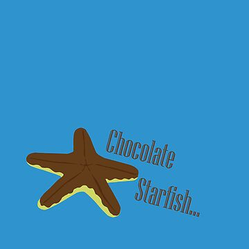 Chocolate Covered Starfish by mpflies2