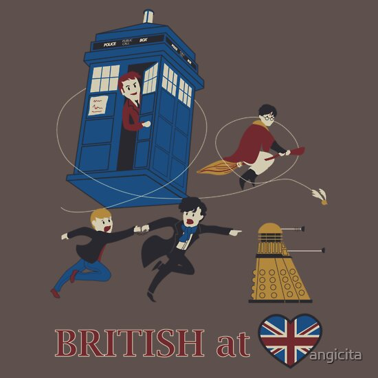 TShirtGifter presents: British at heart