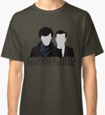 Consulting Detective/Criminal Classic T-Shirt