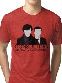 Consulting Detective/Criminal Tri-blend T-Shirt