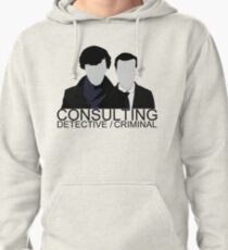 Consulting Detective/Criminal Pullover Hoodie