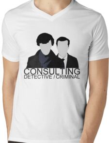 Consulting Detective/Criminal Mens V-Neck T-Shirt