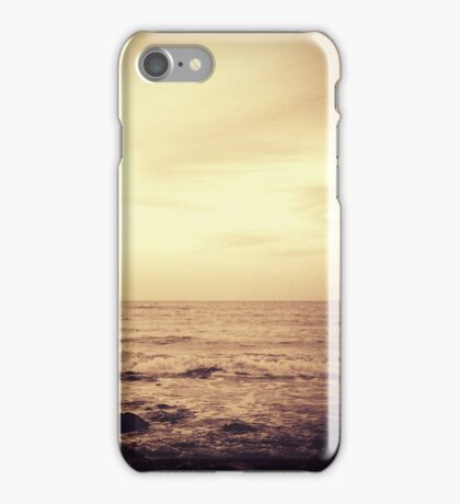 I'll hold your hand through all these years ~ Postcards from the edge iPhone Case/Skin