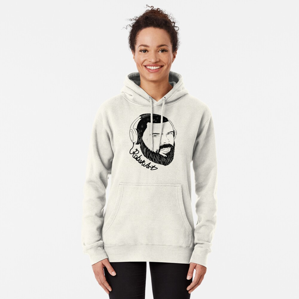 Insatiable black lines Pullover Hoodie