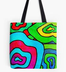 BINGE - Psychedelic artwork Tote Bag