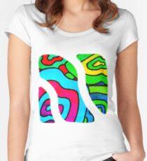 BINGE - Psychedelic artwork Women's Fitted Scoop T-Shirt