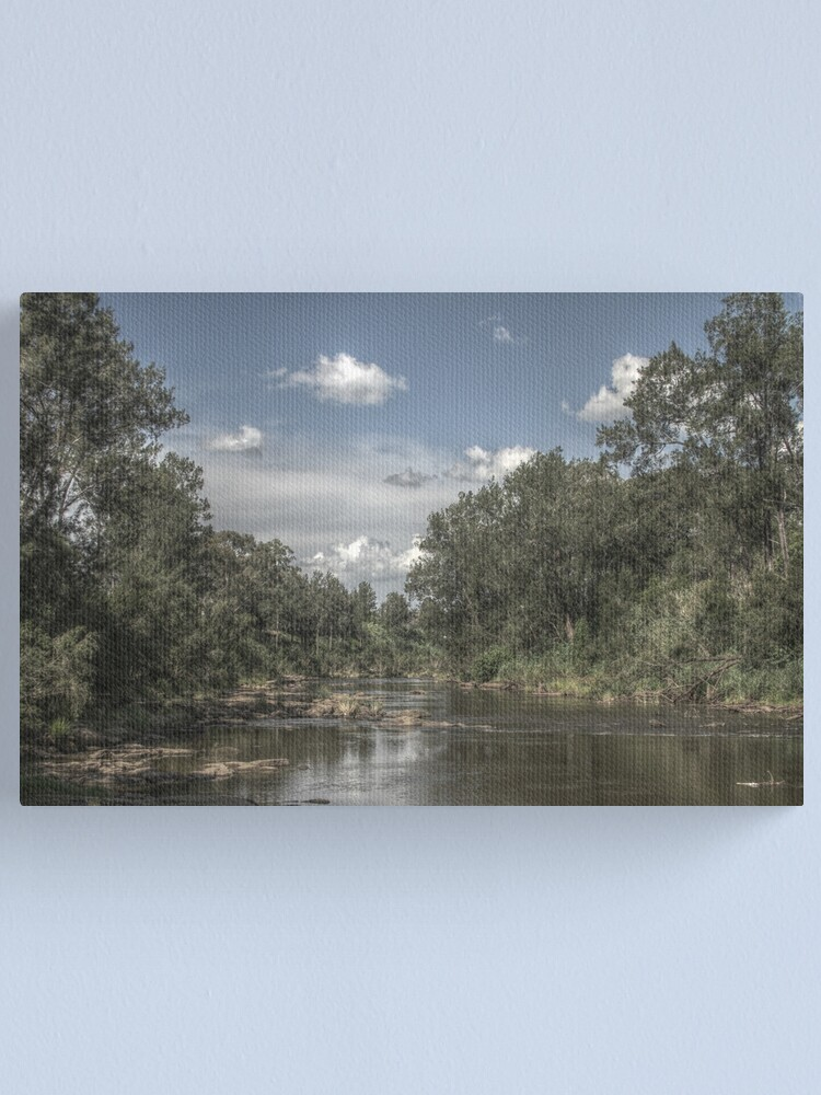 Alternate view of Richmond River Canvas Print