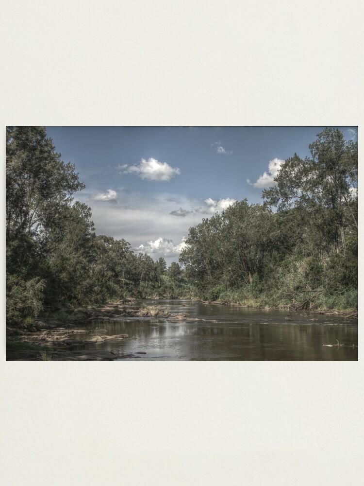 Alternate view of Richmond River Photographic Print