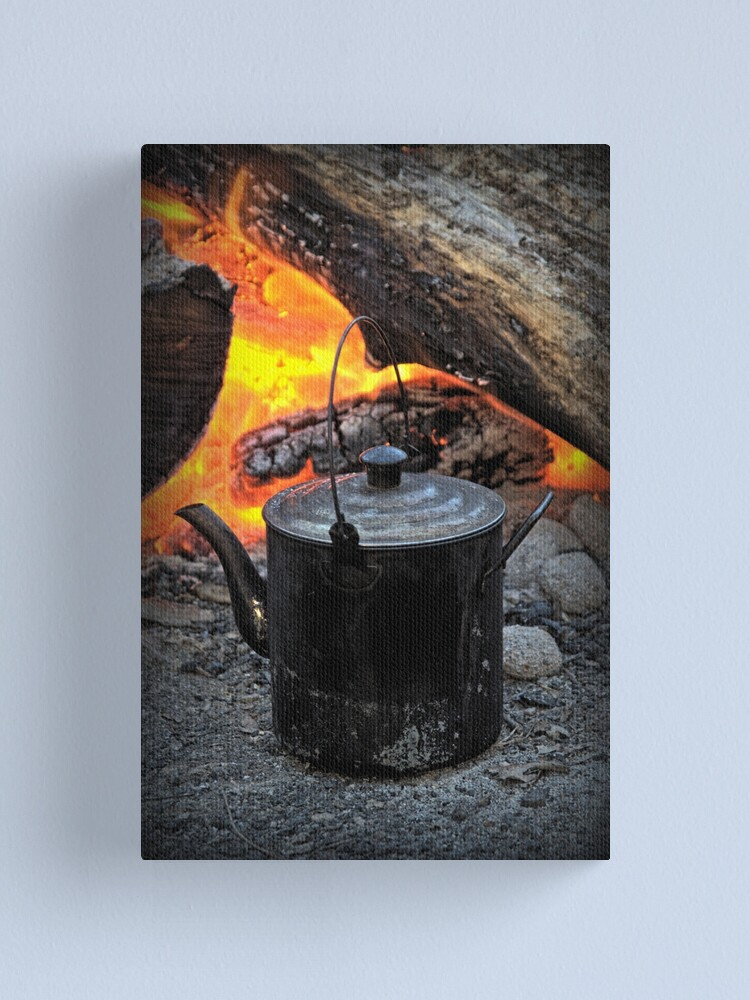 Alternate view of Campfire Canvas Print