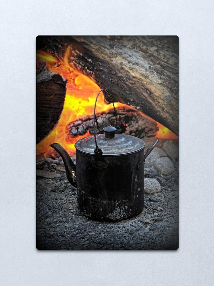 Alternate view of Campfire Metal Print