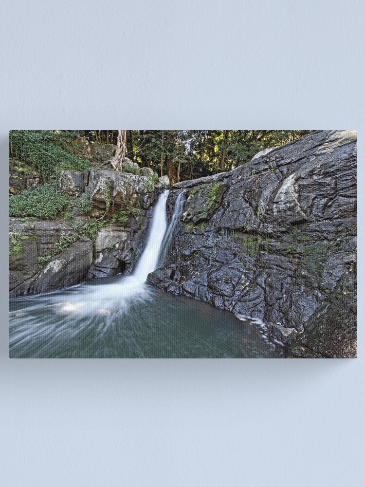 Alternate view of Whian Whian Falls Canvas Print