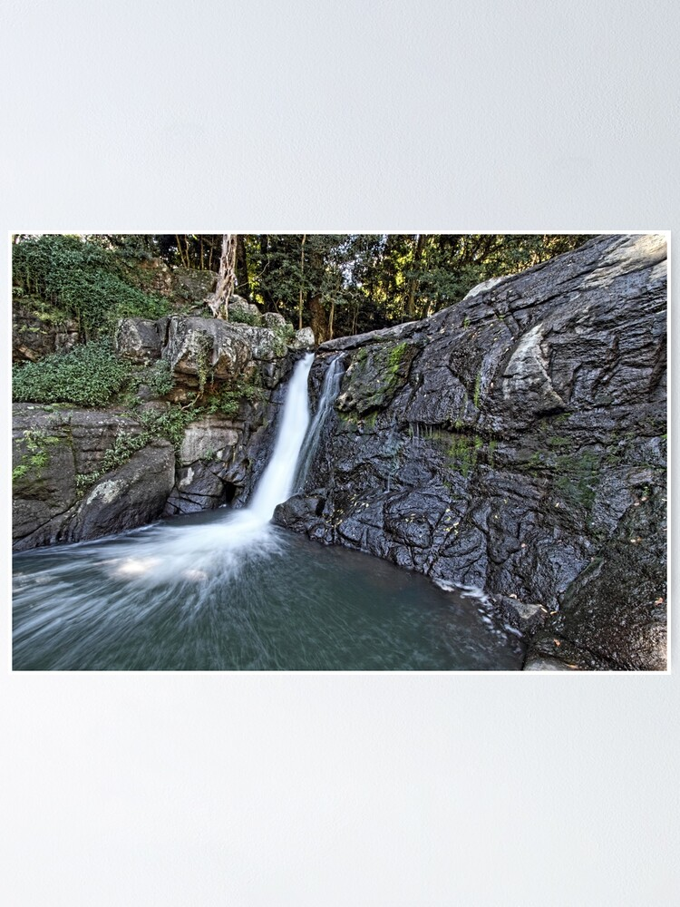Alternate view of Whian Whian Falls Poster