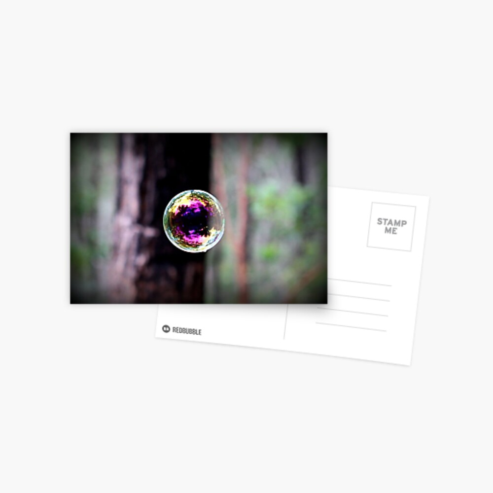 Bubble Postcard