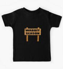 Wabbit season Kids Tee