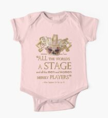 Shakespeare As You Like It Stage Quote One Piece - Short Sleeve