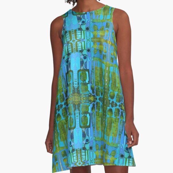 Primitive Mods Tiki A-Line Dress