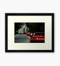 Lamborghini, Bentley, Maserati, Porsche, and you others I can't pronounce GET IN LINE!! Framed Print