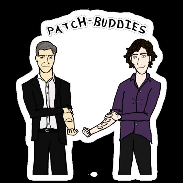 Patch-buddies by SevLovesLily
