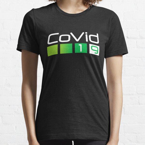 Neon Covid 19 Camiseta esencial