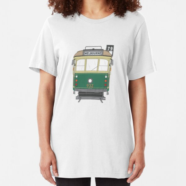 Melbourne Heritage Tram Slim Fit T-Shirt