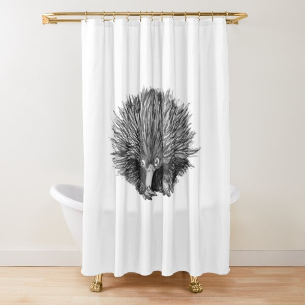 Spike the Echidna Shower Curtain