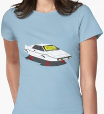 1976 Lotus Esprit - Slight Water Damage Women's Fitted T-Shirt