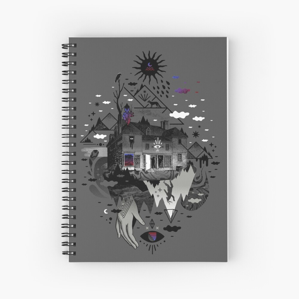 House is Not a Home Spiral Notebook
