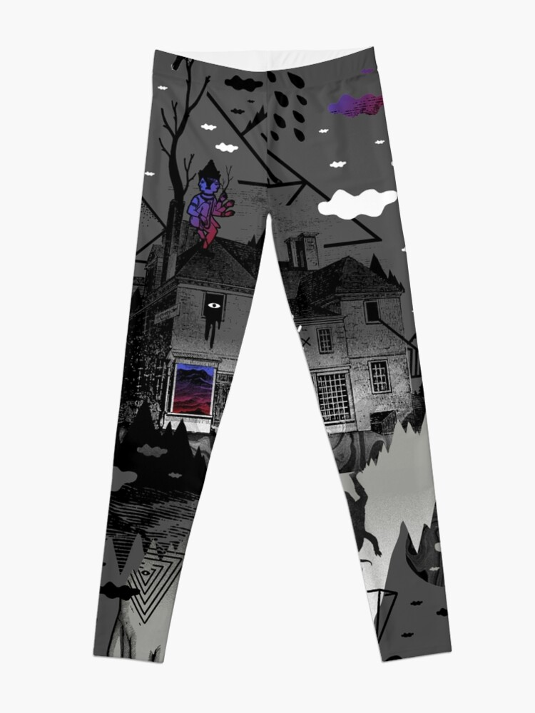 Alternate view of House is Not a Home Leggings
