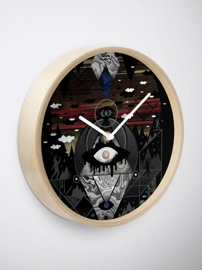 Alternate view of Oversighted Clock