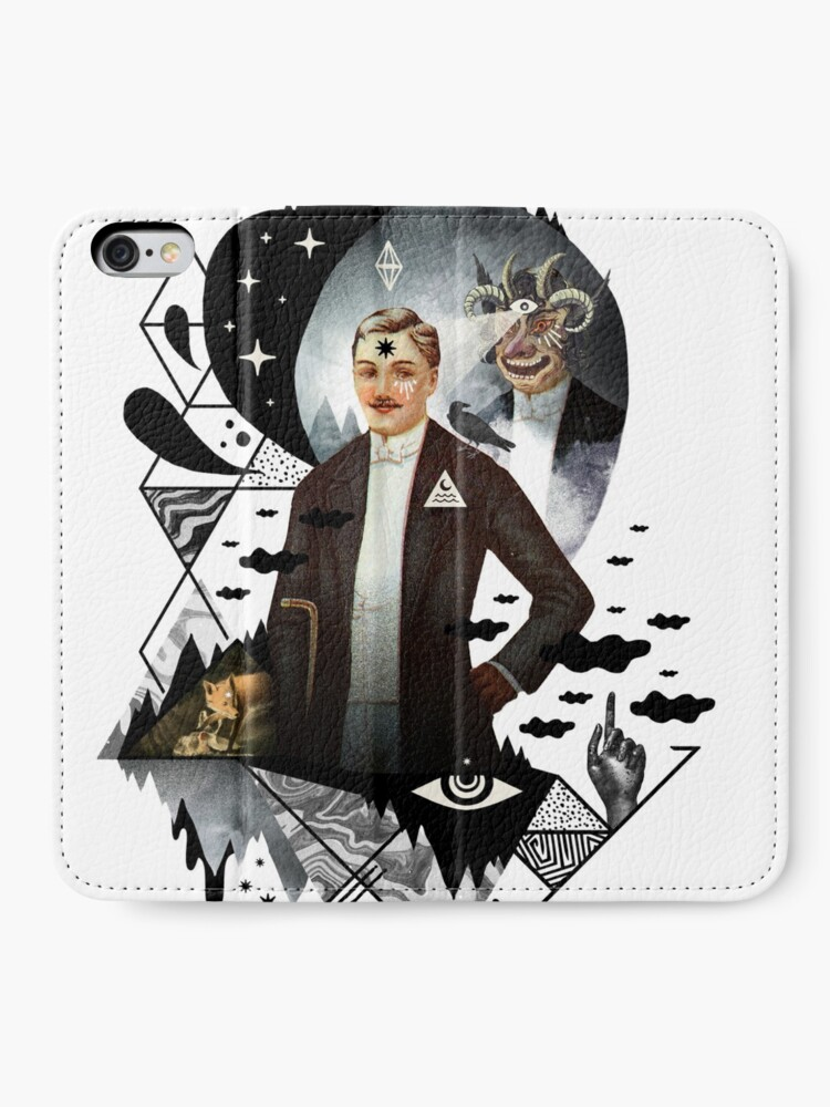 Alternate view of Piece of Mind iPhone Wallet