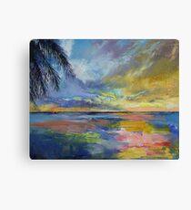 Islamorada Sunset Canvas Print