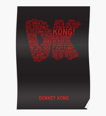 Donkey Kong Poster Poster