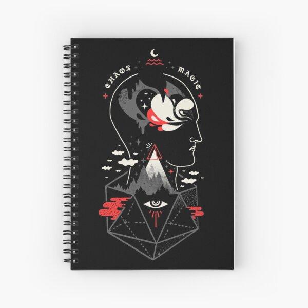 Chaos Magic Spiral Notebook