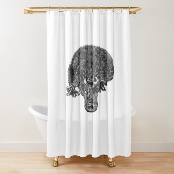 Puddles the Platypus Shower Curtain