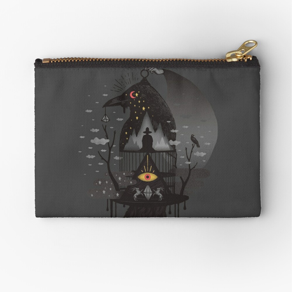 Prisoners Zipper Pouch