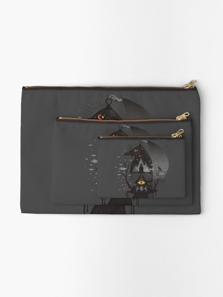 Alternate view of Prisoners Zipper Pouch
