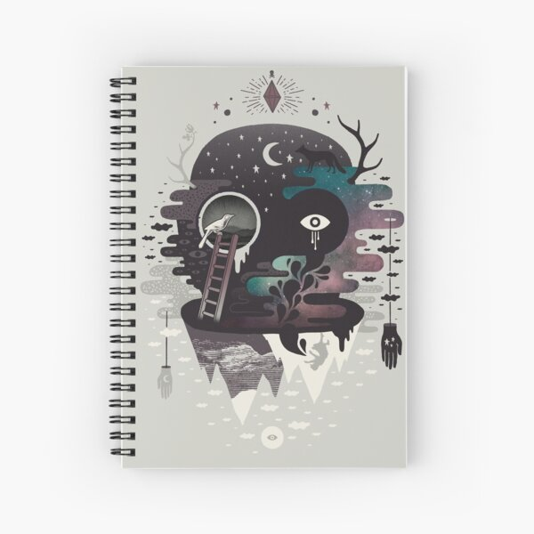Daemon Spiral Notebook