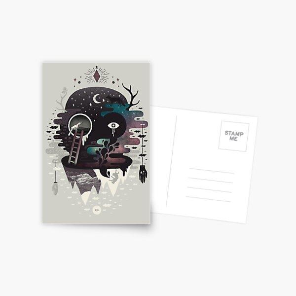 Daemon Postcard