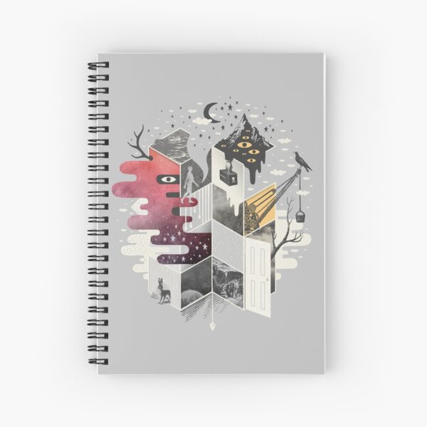 Jung at Heart Spiral Notebook