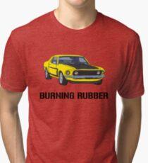 Burning Rubber Tri-blend T-Shirt