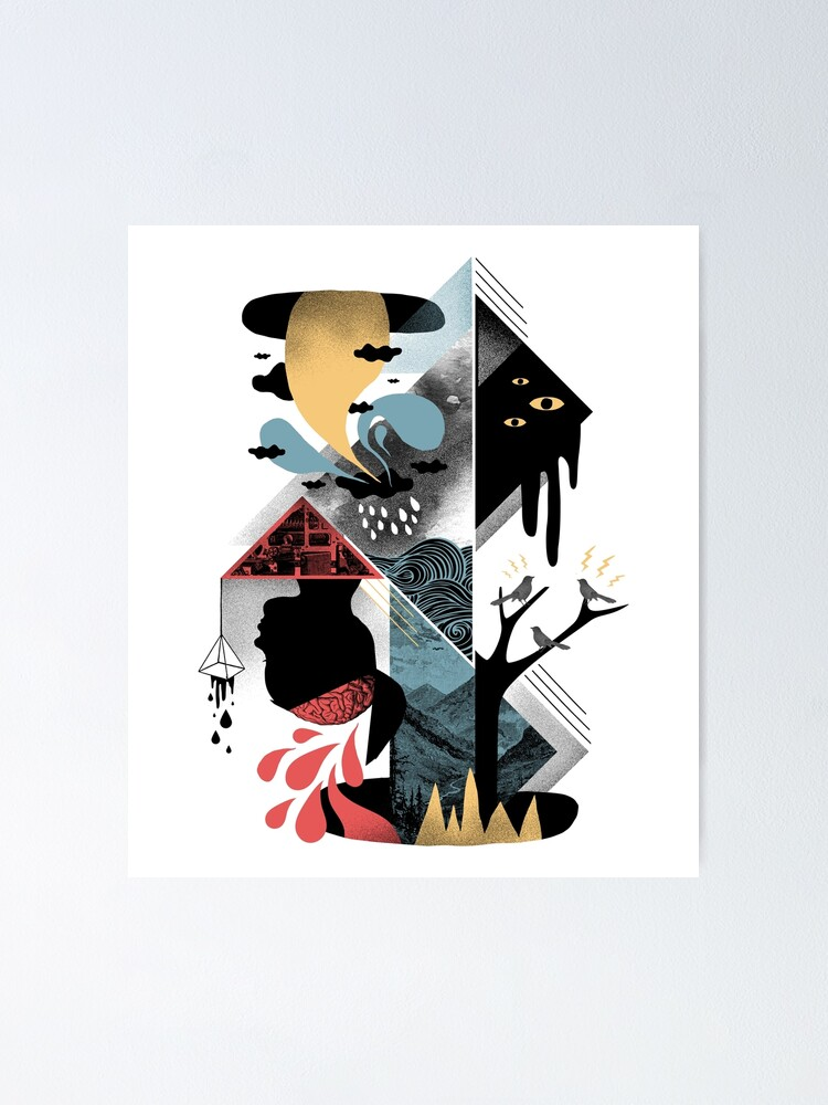 Alternate view of Shapes and Nightmares Poster