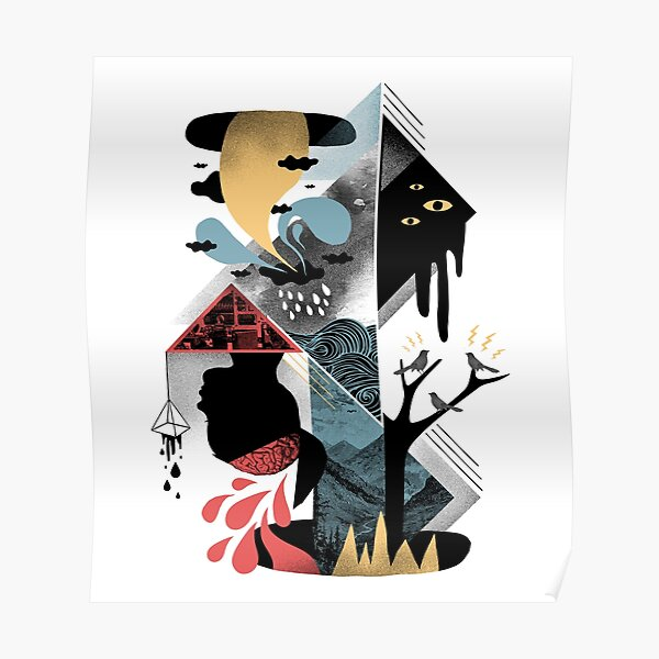 Shapes and Nightmares Poster