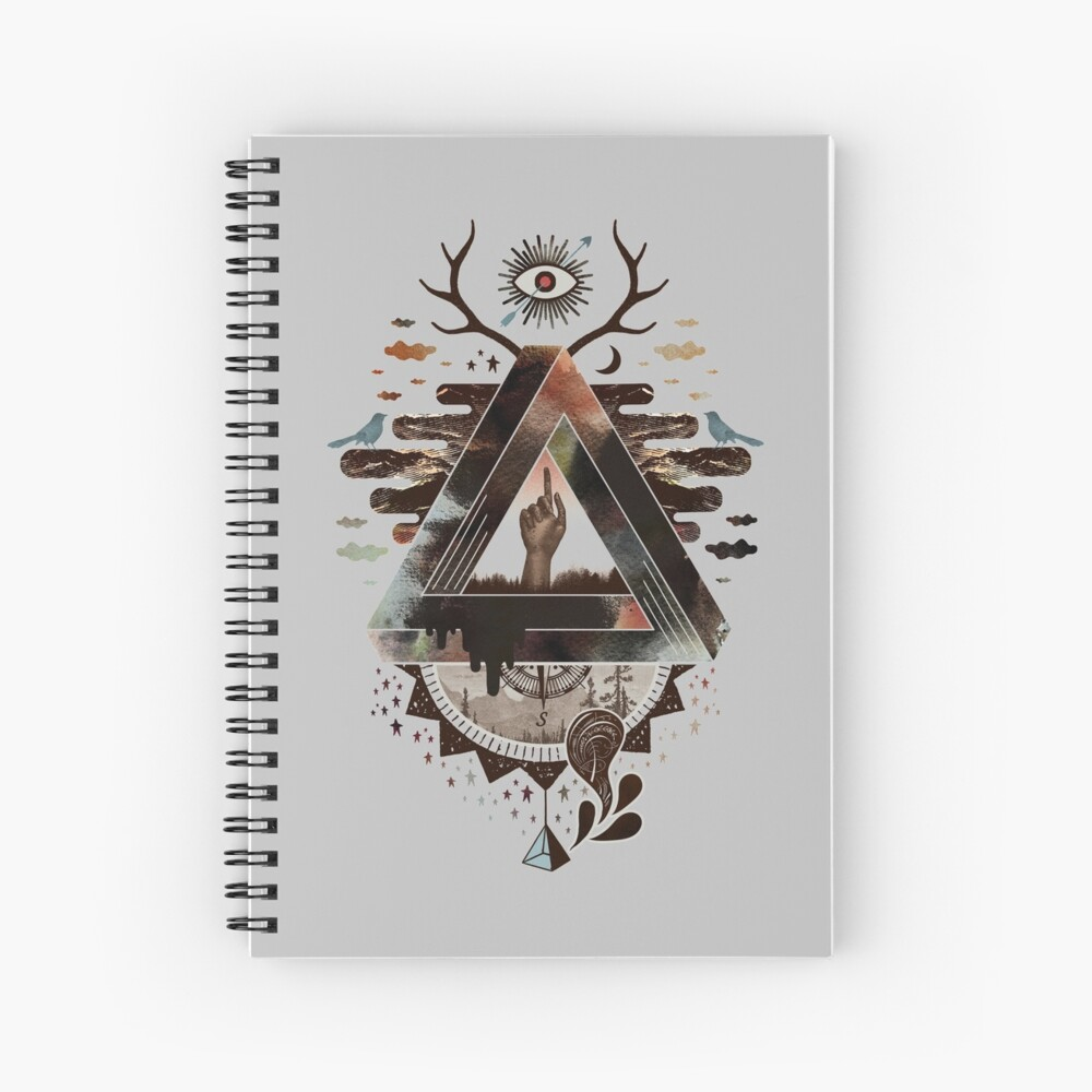All Impossible Eye Spiral Notebook