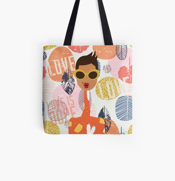 Love is Dope All Over Print Tote Bag