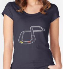 Keeping on track Women's Fitted Scoop T-Shirt